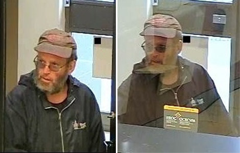 Accused bank robber