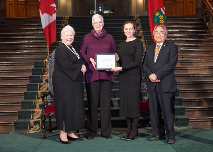Friends of the Penitentiary Museum receive Lieutenant Governor's Ontario Heritage Award for Excellence in Conservation