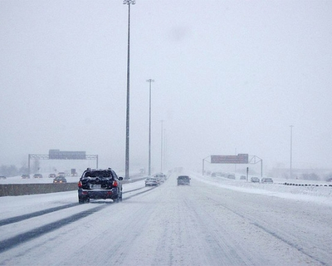 401 Highway winter