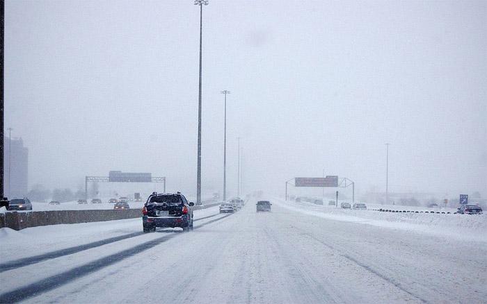 401 Highway winter