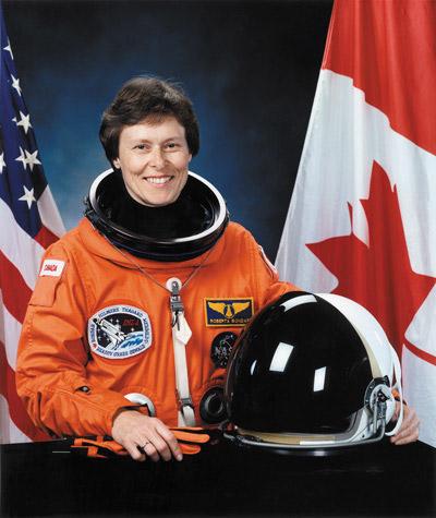 Canadian astronaut Roberta Bondar