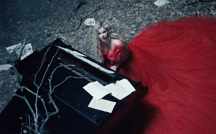 Image result for avril lavigne i fell in love with the devil