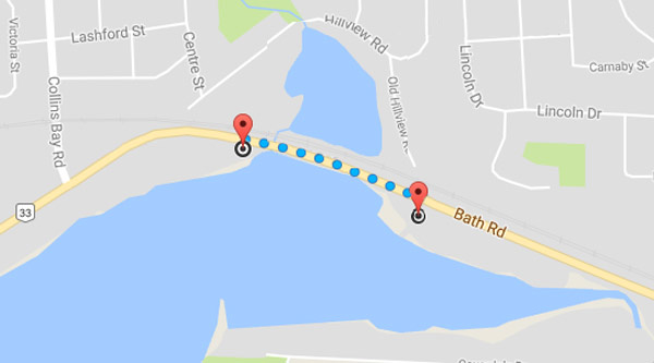 Strech of Bath Rd to have shore restoration work