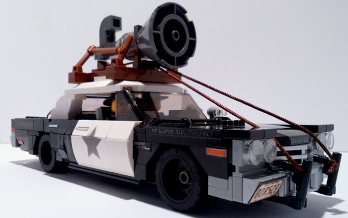 Blues Brothers LEGO car