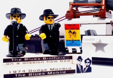 blues brothers lego mobile