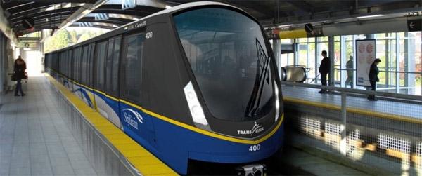Kingston-Built Bombardier Trains Arriving in B C