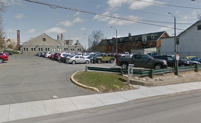 Byron parking lot