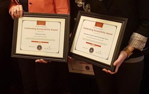 City of Kingston Celebrating Accessibility Award