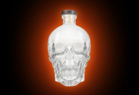 Crystal Head Vodka mystery bottle