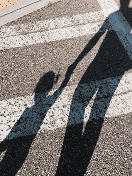 cross walk shadow