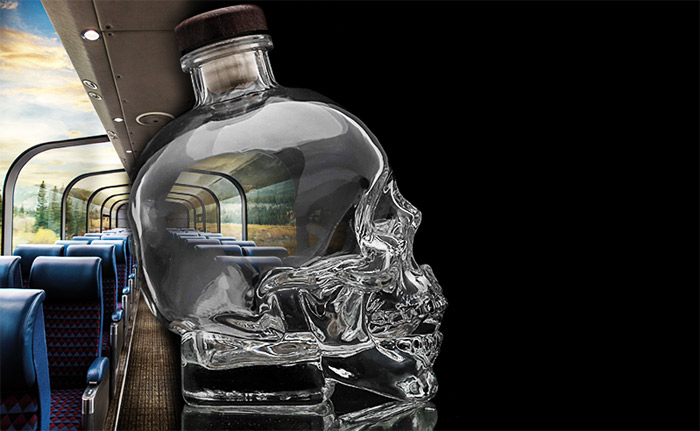 Crystal Head Vodka and Via Rail contest