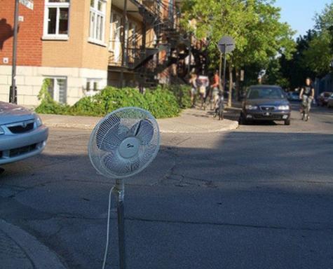 curbside fan