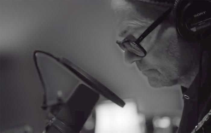 Gord Downie in Studio