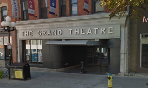 Front of Kingston's Grand Theatre