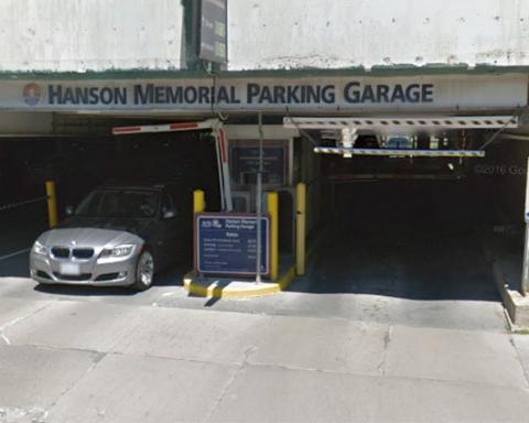 Hanson Memorial Parking Garage
