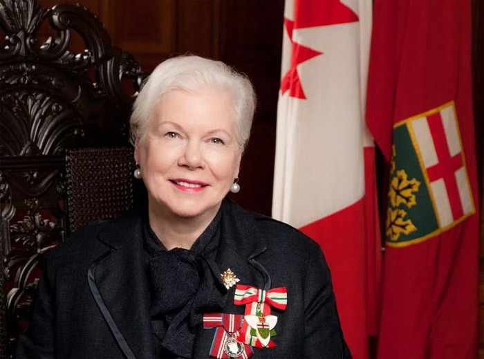 Lt Governor of Ontario, the Hon. Elizabeth Dowdeswell