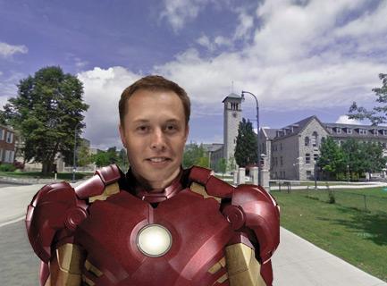 Ironman Elon Musk