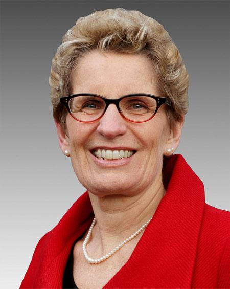 Premier Kathleen Wynne