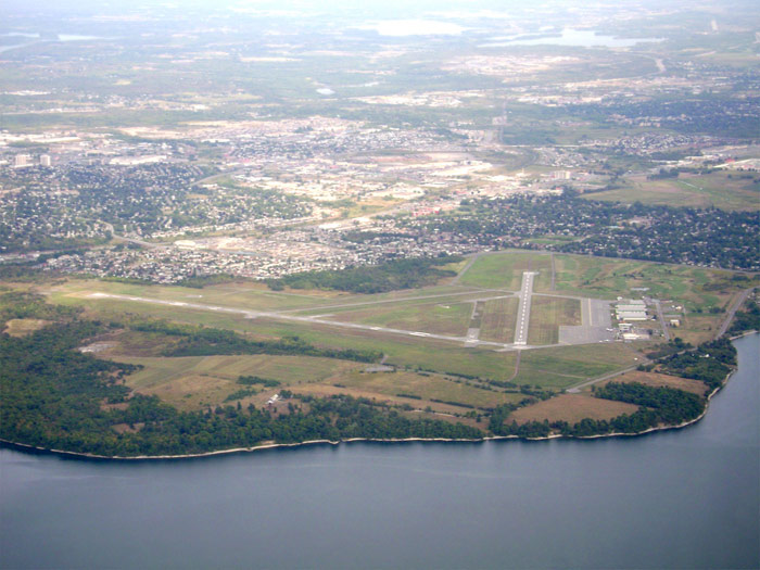 Kingston airport