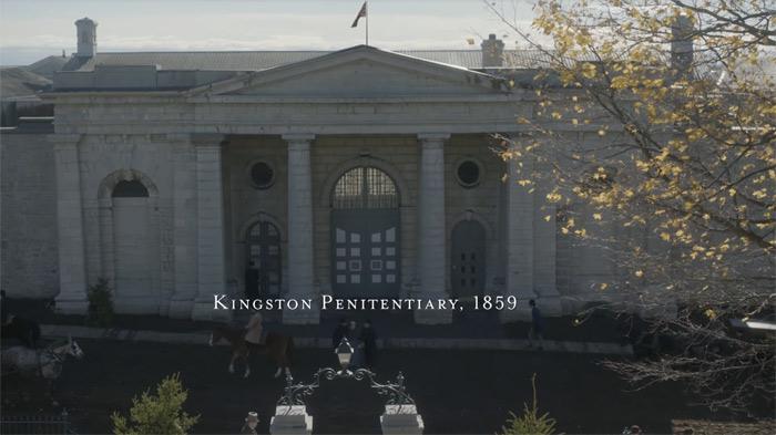 Kingston Pen in 1859 - Alias Grace