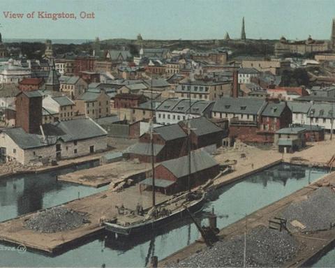 kingston postcard circa 1900