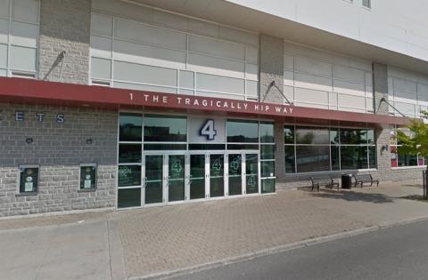 Rogers K-Rock Centre main entrance