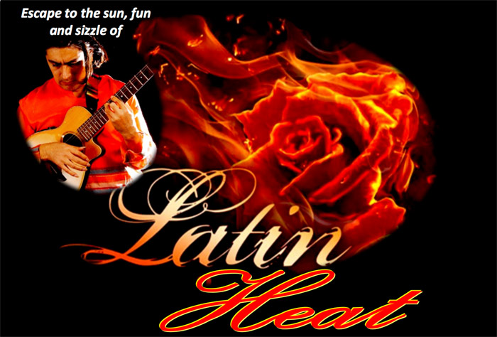 Latin Heat show in Kingston