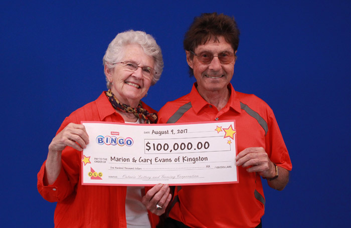 Evans - lotto winners