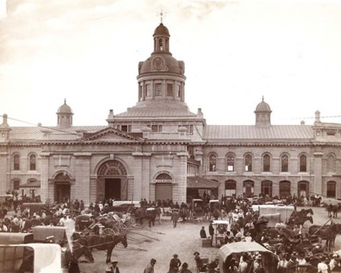 Market Square, Kingston c. 1900