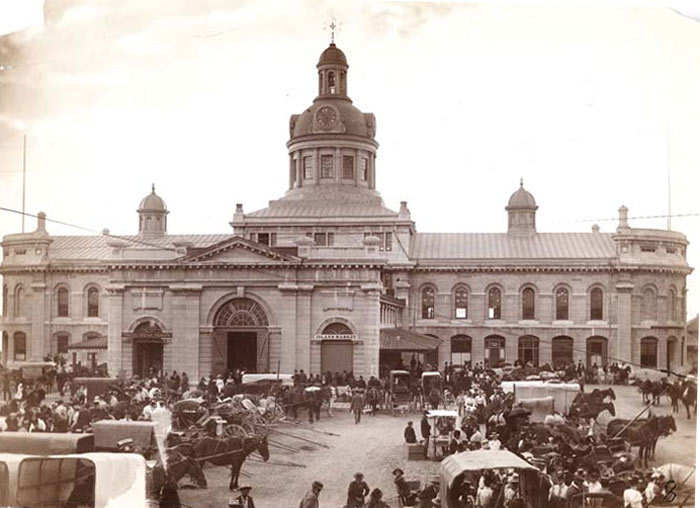 Market Square, Kingston c. 1900