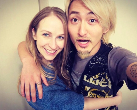 Michelle Lavigne and Ryota Kohama