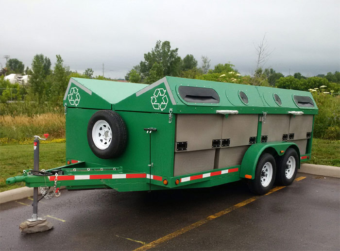 Mobile Waste Diversion Station