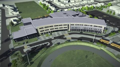New Limestone District School Board school