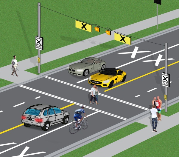 Police Clarify New Traffic Rules For Pedestrian Crossings