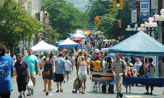 Princess St. Promenade street festival