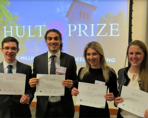 Queen's University Hult Prize winners