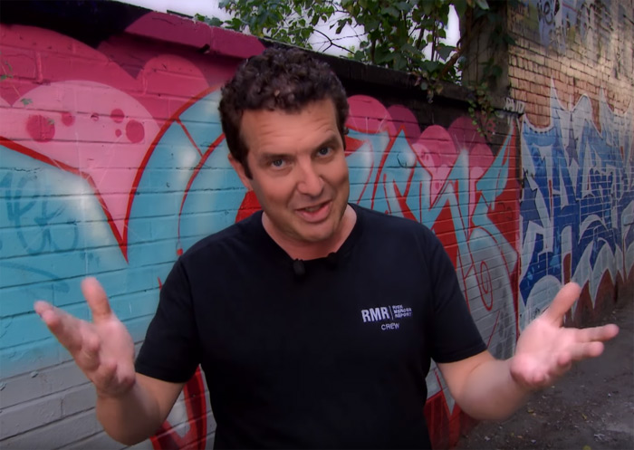 Rick Mercer, alley rant