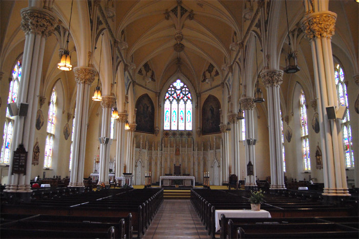 St. Mary's cathdral in Kingston Ontario
