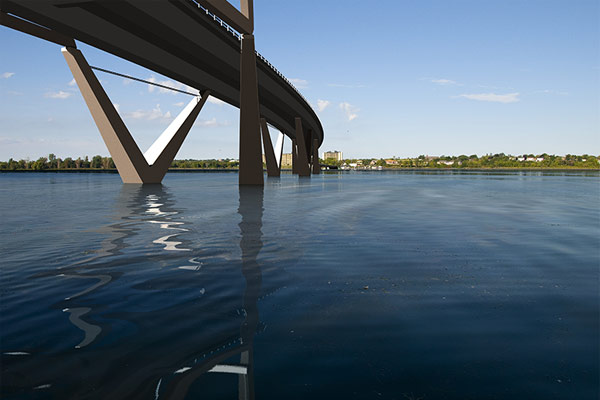 Kingston proposed third crossing (bridge)