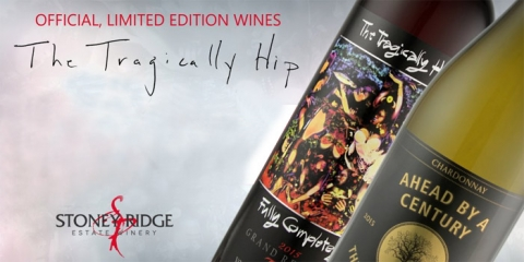 Tragically Hip Wine at LCBO